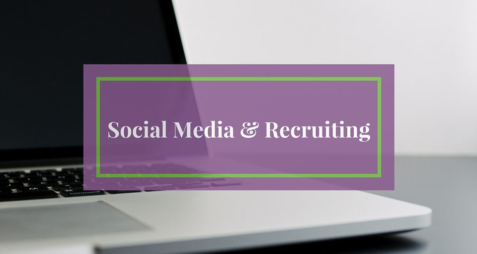 Social Media & Recruiting Infographic