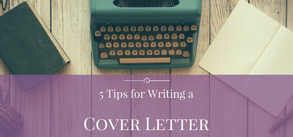 tips for writing a cover letter joypowered hr services