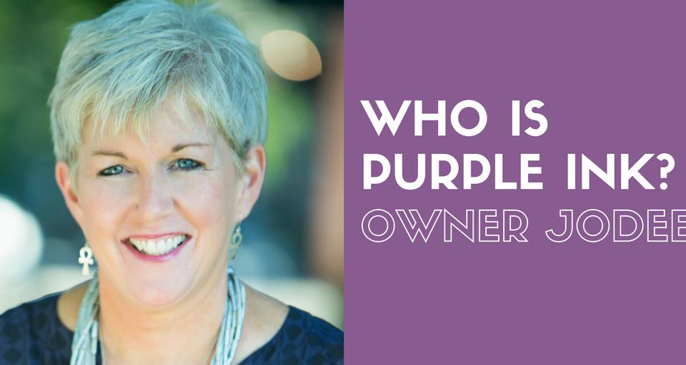 Who Is Purple Ink JoDee